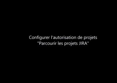 Configurer l'autorisation « Parcourir les projets » JIRA