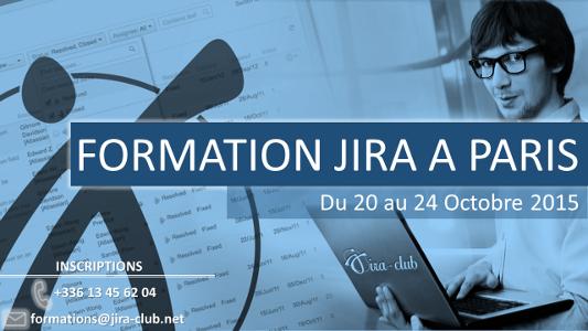 Formation JIRA à Paris