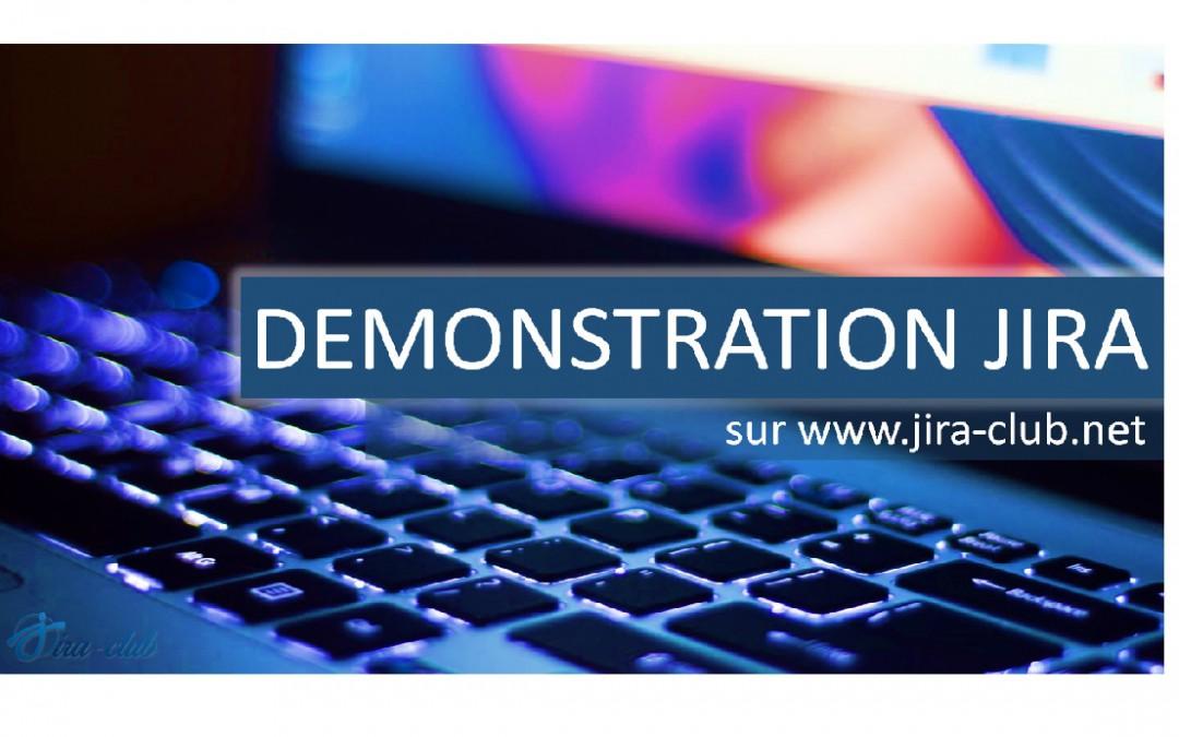 Testez JIRA sur l'environnement de démo JIRA Club