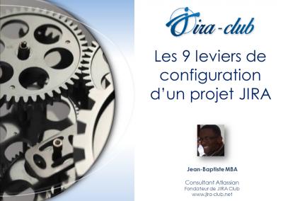 Les 9 leviers de configuration d'un projets JIRA