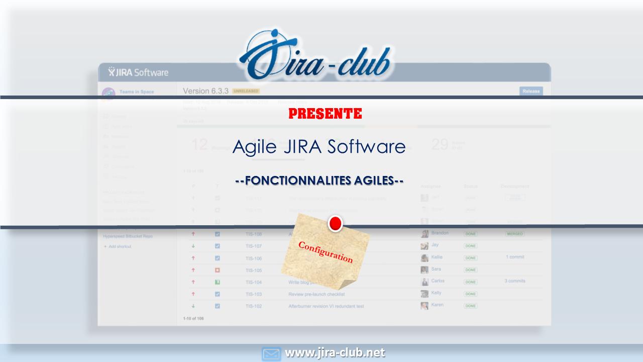Agile Jira Sofware configuration